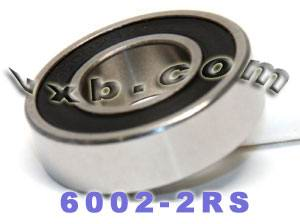 6002-2RS Bearing 15x32x9 Sealed:vxb:Ball Bearing