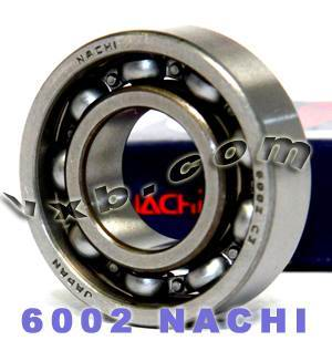 6002 Nachi Bearing 15x32x9:Open:C3:Japan