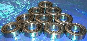 10 Bearing 6002ZZ 15x32x9 Shielded:vxb:Ball Bearing