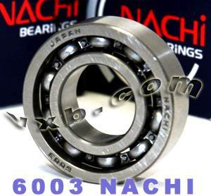 6003 Nachi Bearing 17x35x10:Open:C3:Japan