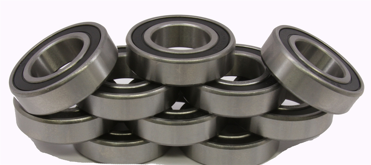 10 Bearing 6004-2RS 20x42x12 Sealed:vxb:Ball Bearings