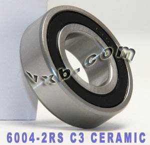 6004-2RS Bearing Hybrid Ceramic Sealed 20x42x12:vxb:Ball Bearings