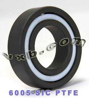6005 Full Ceramic Bearing 25x47x12 Silicon Carbide:vxb:Ball Bearing