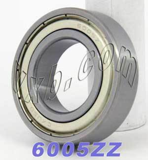 6005ZZ Bearing 25x47x12 Shielded:vxb:Ball Bearing