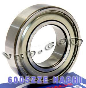 6005ZZE Nachi Bearing:Shielded:C3:Japan 25x47x12