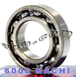 6006 Nachi Bearing 30x55x13:Open:C3:Japan