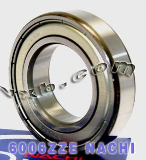 6006ZZE Nachi Bearing 30x55x13:Shielded:C3:Japan