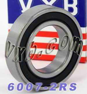 6007-2RS Bearing 35x62x14 Sealed:vxb:Ball Bearing