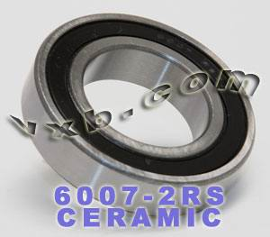 6007-2RS Bearing Hybrid Ceramic Sealed 35x62x14:vxb:Ball Bearing