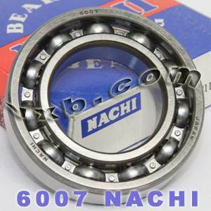 6007 Nachi Bearing 35x62x14:Open:C3:Japan