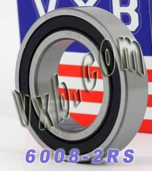 6008-2RS Bearing 40x68x15 Sealed:vxb:Ball Bearing