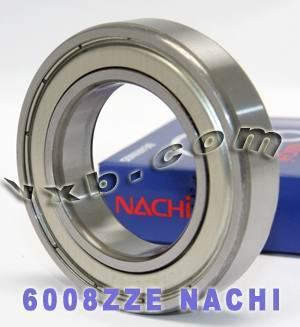 6008ZZE Nachi Bearing 40x68x15:Shielded:C3:Japan