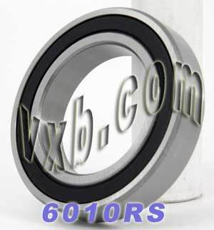 6010RS Bearing 50x80x16 Sealed:vxb:Ball Bearing