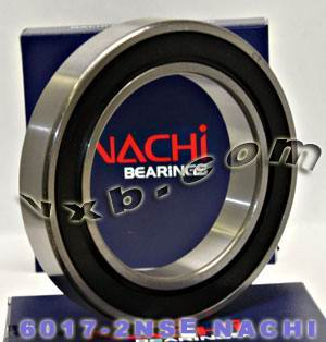 6017-2NSE Nachi Bearing 85x130x22:Sealed:C3:Japan