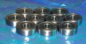 606ZZ Shielded Ball Bearing:vxb:Ball Bearing