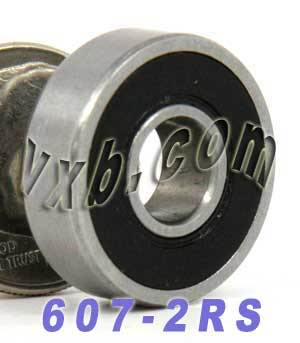 607-2RS Bearing 7x19x6 Sealed:vxb:Ball Bearing