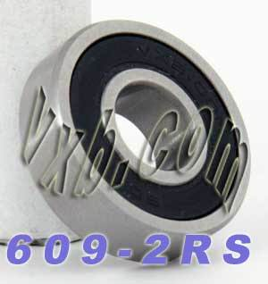 609-2RS Bearing 9x24x7 Sealed:vxb:Ball Bearing