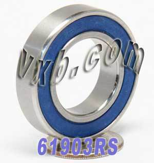 61903RS Bearing 17x30x7 Sealed:vxb:Ball Bearing