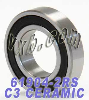 61904-2RS Bearing Hybrid Ceramic Sealed 20x37x9:vxb:Ball Bearings