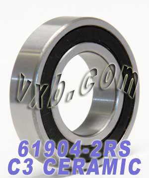 61904-2RS Bearing Hybrid Ceramic Sealed 20x37x9:vxb:Ball Bearing