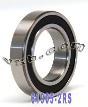 61905-2RS Bearing 25x42x9 Sealed:vxb:Ball Bearing