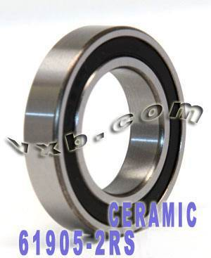 61905-2RS Bearing Hybrid Ceramic Sealed 25x42x9:vxb:Ball Bearing
