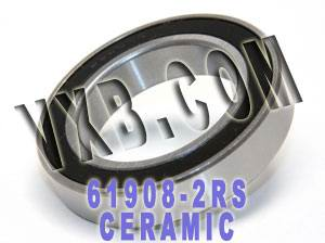 6908-2RS Bearing Hybrid Ceramic Sealed 40x62x12:vxb:Ball Bearings