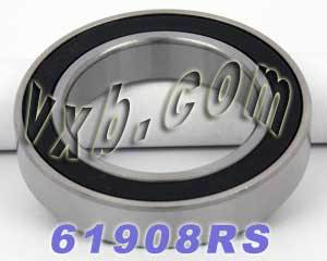 61908RS  Bearing 40x62x12 Sealed:vxb:Ball Bearing