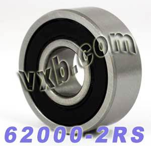 62000-2RS Bearing 10x26x10 Sealed:vxb:Ball Bearing