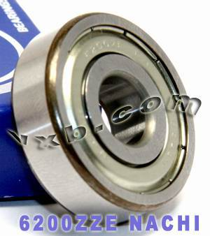 6200ZZE Nachi Bearing 10x30x9:Shielded:C3:Japan