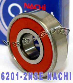 6201-2NSE Nachi Bearing 12x32x10 Sealed C3 Japan Ball Bearings