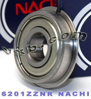 6201ZZENR Nachi Bearing 12x32x10:Shielded:C3:Snap Ring:Japan