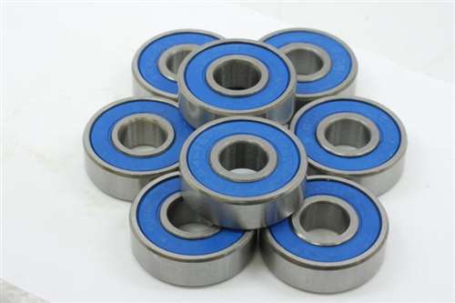 10 Bearing 6204-2RS 20x47x14 Sealed:vxb:Ball Bearings