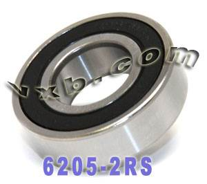 6205-2RS Bearing 25x52x15 Sealed:vxb:Ball Bearing