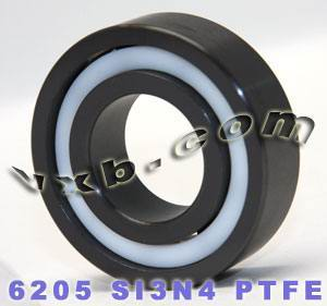 6205 Full Ceramic Bearing 25x52x15 Silicon Nitride:vxb:Ball Bearing