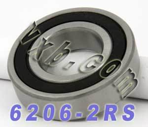6206-2RS Bearing 30x62x16 Sealed:vxb:Ball Bearing