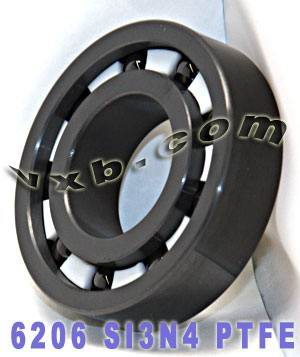 6206 Full Ceramic Bearing 30x62x16 Silicon Carbide:vxb:Ball Bearing