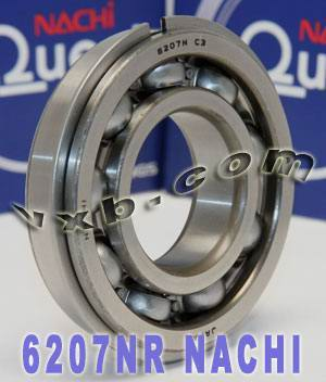 6207NR Nachi Bearing Snap Ring
