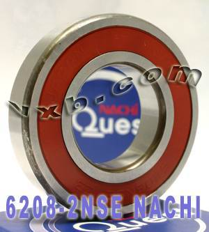 6208-2NSE Nachi Bearing 40x80x18 Sealed C3 Japan Ball Bearings
