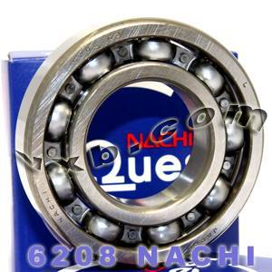 6208 Nachi Bearing 40x80x18:Open:C3:Japan