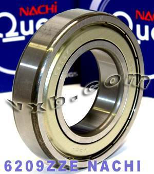 6209ZZE Nachi Bearing 45x85x19:Shielded:C3:Japan
