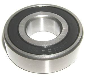 "R6-2RS Bearing 3/8""x7/8""x9/32"" Si3N4 Ceramic:Stainless:Sealed:Premium ABEC-5:vxb:Ball Bearing"