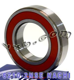 6210-2NSE Nachi Bearing 50x90x20 Sealed C3 Japan Ball Bearings