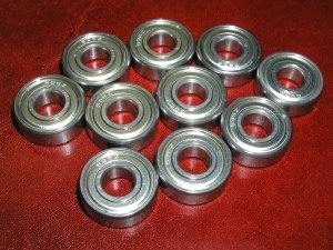 10 Bearing 623ZZ 3x10x4 Ceramic:Shielded:vxb:Ball Bearing