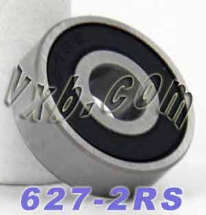 627-2RS Bearing 7x22x7 Sealed:vxb:Ball Bearing