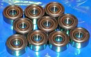 10 Bearing 6008ZZ 40x68x15 Shielded:vxb:Ball Bearing