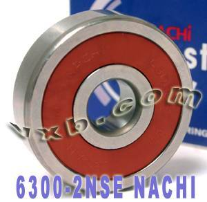6300-2NSE Nachi Bearing 10x35x11 Sealed C3 Japan Ball Bearings