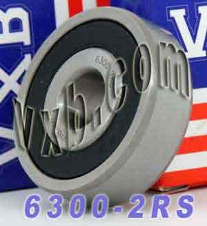 6300-2RS Sealed Bearing 10x35x11:vxb:Ball Bearing