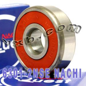 6301-2NSE Nachi Bearing 12x37x12 Sealed C3 Japan Ball Bearings