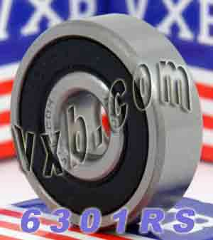 6301RS Bearing 12x37x12 Sealed:vxb:Ball Bearing